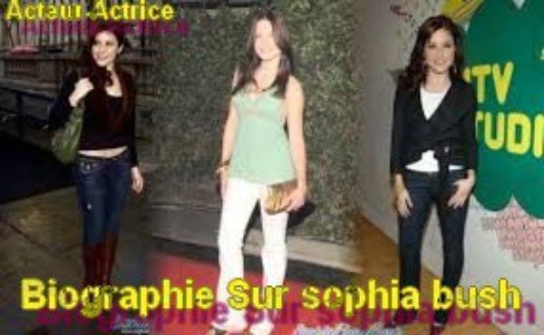 Biographie Sur Sophia Bush