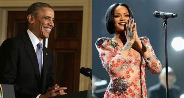 Barack Obama connaît les chansons de Rihanna par coeur !