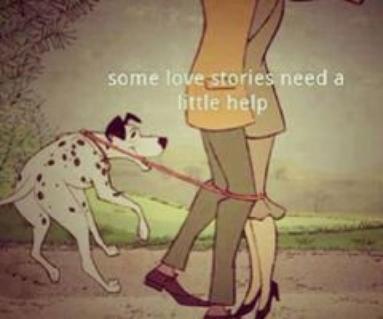 "Chapitre 101: ""Some love stories need a little help""-101 Dalmatians!"