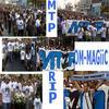 La marche silencieuse des supporters en mémoire d'Imad et Lahcen