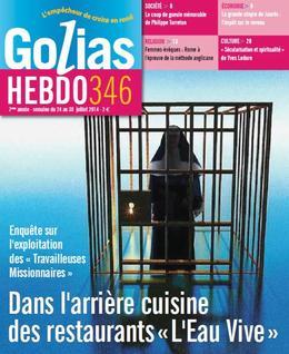 """Article du journal : """"GoliasHebdo"""""""