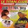 DJ DUPPLEIX VA EXPLOSER LE TITAN NIGHT CLUB
