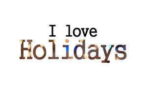 - Les vacances .. -