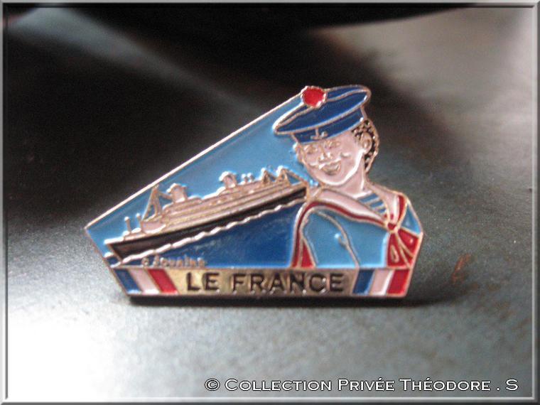 pin's paquebot FRANCE