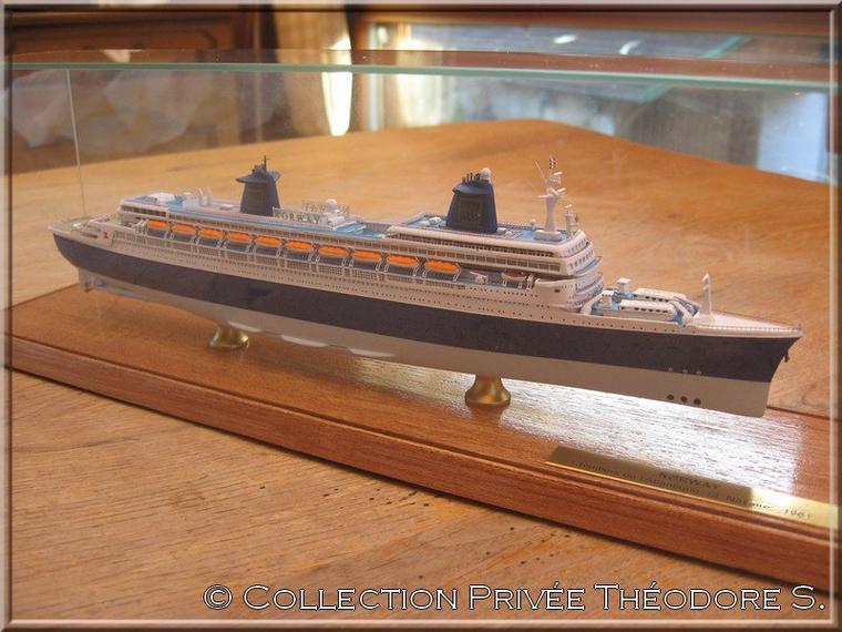 Maquette du NORWAY Classic Ship Collection au 1/1250
