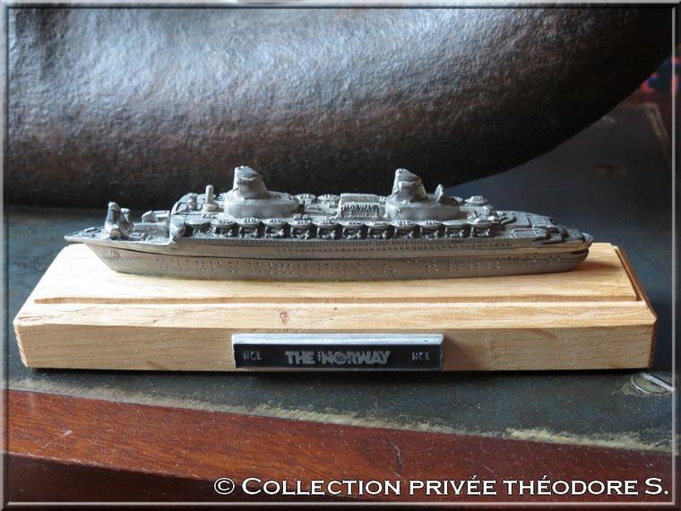 maquette en étain du NORWAY 80 - vendu à bord