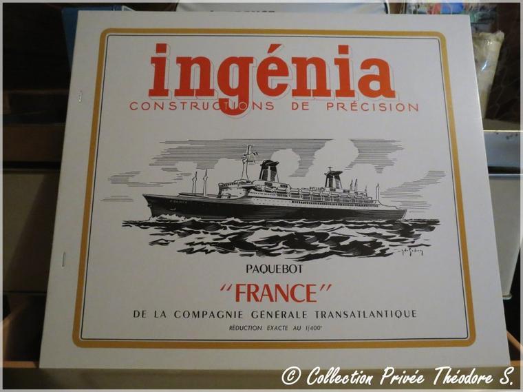 Maquette en carton Ingénia