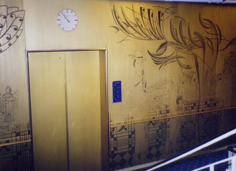 Panneau d'ascenseur du NORWAY