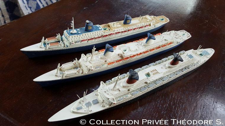 FRANCE 1962 - NORWAY 1980 - NORWAY 1990 : HEIN MUCK MODEL au 1/1250