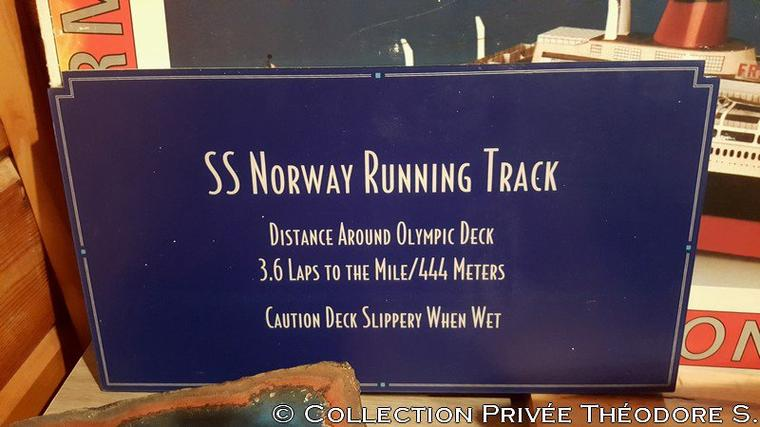 Panneau running track s/s NORWAY