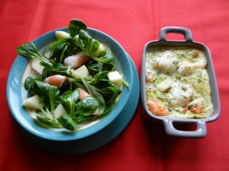 325   Saint-Jacques aux filaments de légumes
