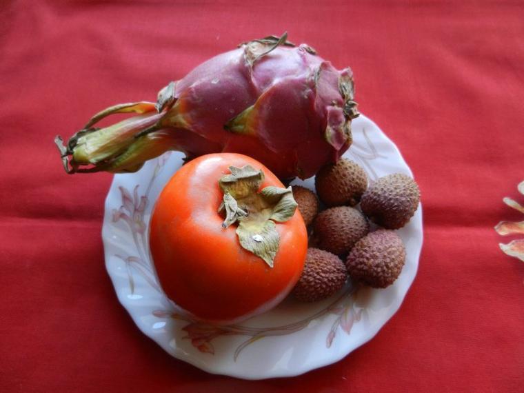 707  Le pitaya ou fruit du dragon