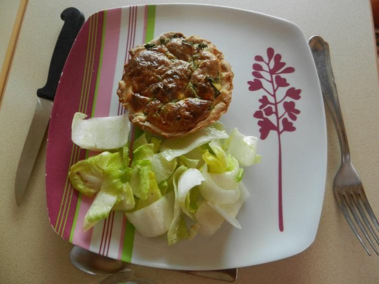 761    Tartelette saumon-orties