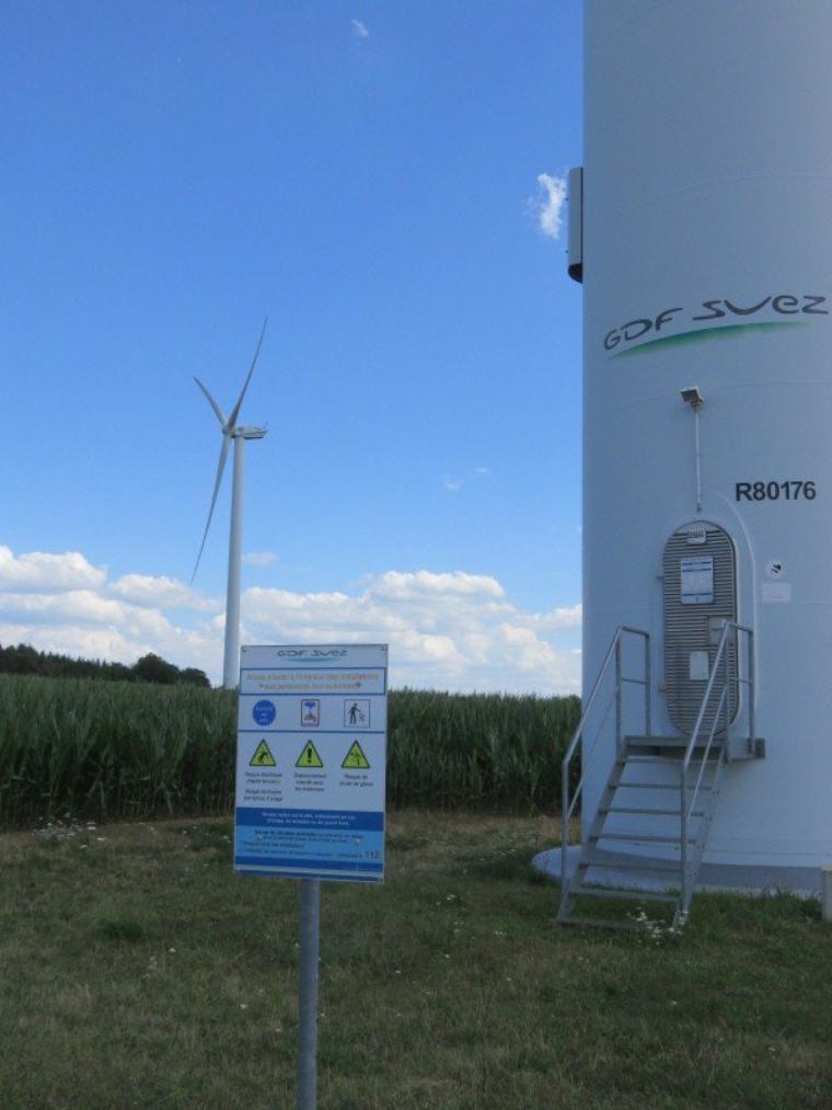 1118  Les éoliennes...