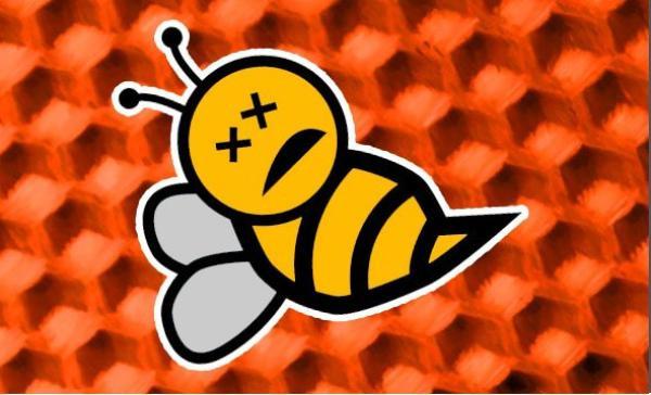 La mort des abeilles.