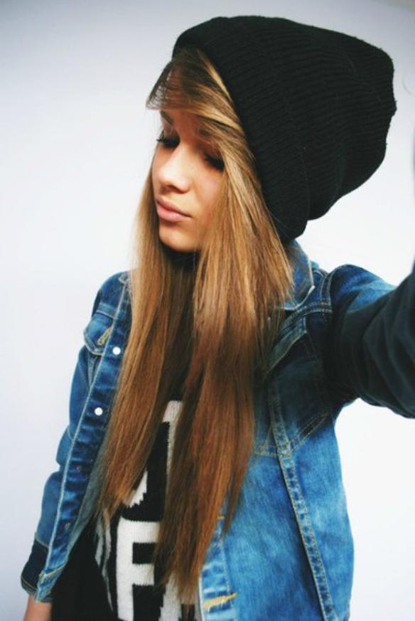 Blog de castiel-ella - Castiel-ella - Skyrock.com Pretty Girl With Brown Hair And Brown Eyes With Swag