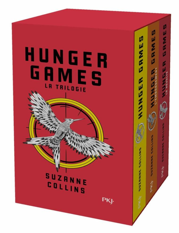 Hunger Games, Tomes 1, 2 et 3, Suzanne Collins
