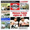 Article dans la Dépêche de Tahiti...