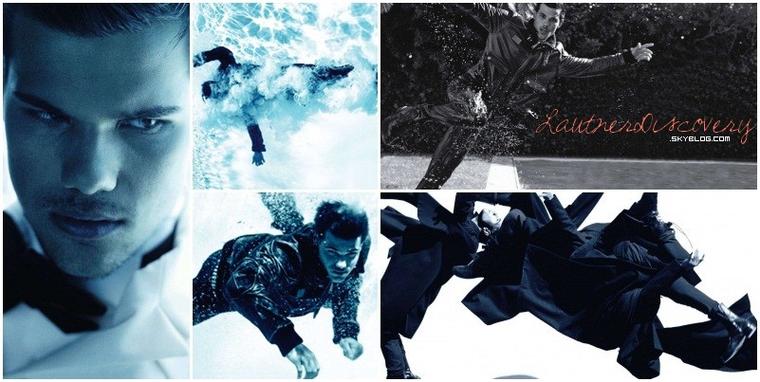 Photoshoot pour l'Uomo Vogue & Information sur Taylor