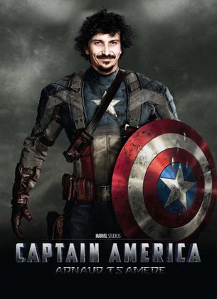Captain America, mon super héros préféré (34ème passage d'Arnaud Tsamere)