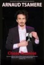 Critique des Cahiers du Rire sur le spectacle d'Arnaud Tsamere (Chose Promise)