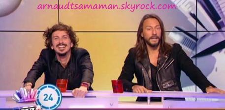 Arnaud Tsamere dans le News Show du 11 février 2012