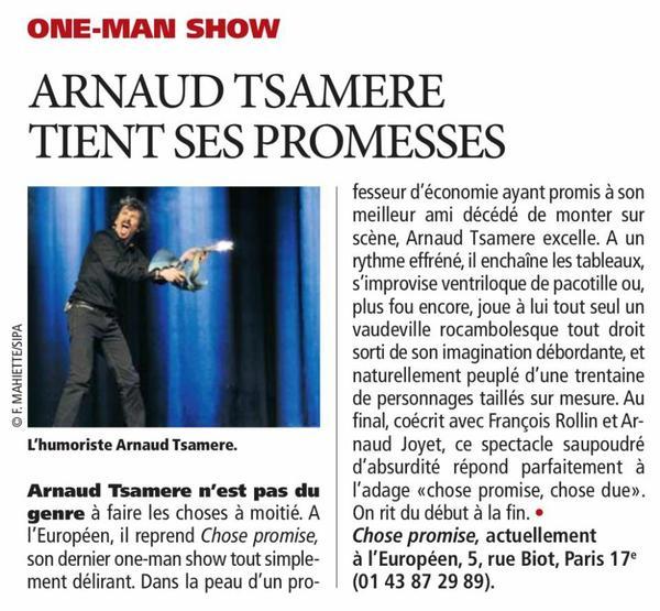 Arnaud Tsamere dans Direct Matin