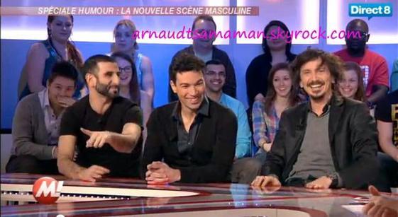 Arnaud Tsamere dans Morandini!
