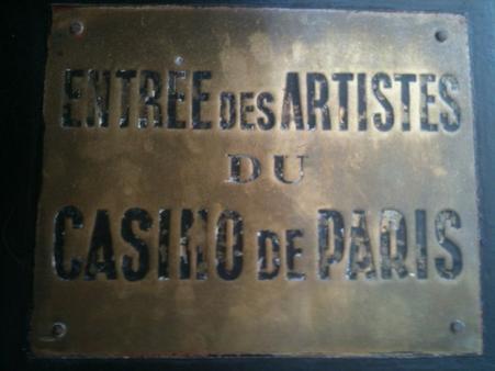 La première au Casino de Paris