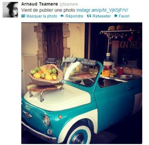 Arnaud Tsamere en vacances à Argelès!