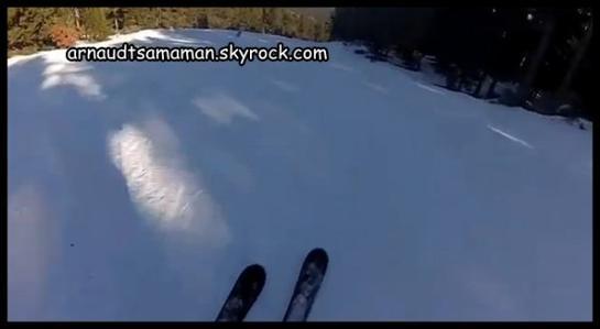 Arnaud Tsamere glisse avec vous pour l'année 2013!
