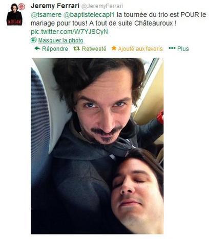 """Arnaud Tsamere est """"pour"""" le mariage pour tous!"""