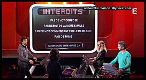 """Arnaud Tsamere est encore passé dans """"Mot de passe"""""""