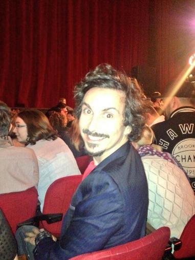 Arnaud Tsamere a été voir le spectacle de Jérémy Ferrari à l'Olympia!