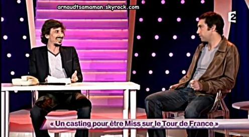 Un casting pour être Miss sur le Tour de France (71ème passage d'Arnaud Tsamere)