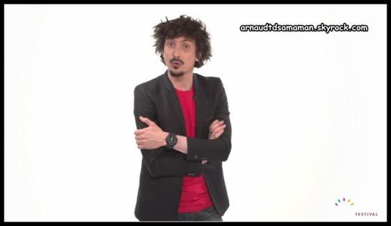 Arnaud Tsamere sera le parrain du Montreux Comedy Festival 2013!!
