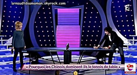 Pourquoi les chinois dominent-ils le tennis de table? (75ème passage d'Arnaud Tsamere)