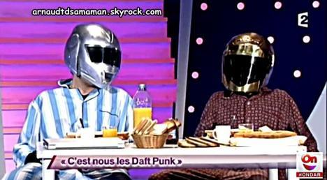 C'est nous les Daft Punk (76ème passage d'Arnaud Tsamere)