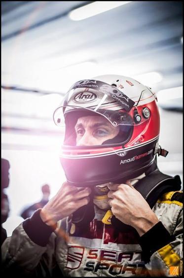 Arnaud Tsamere au  BeTrophy de Spa-Francorchamps 2013