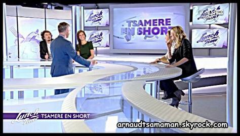 """2ème chronique d'Arnaud Tsamere dans """"Lunch Time"""""""