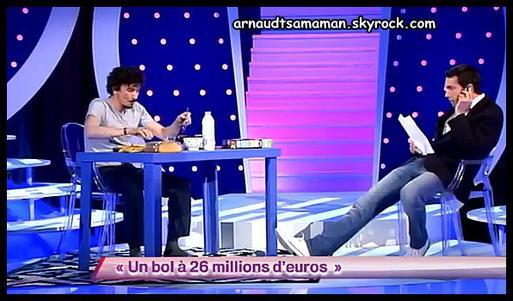 Arnaud Tsamere en guest dans le sketch de Ben (Un bol à 26 millions d'euros)