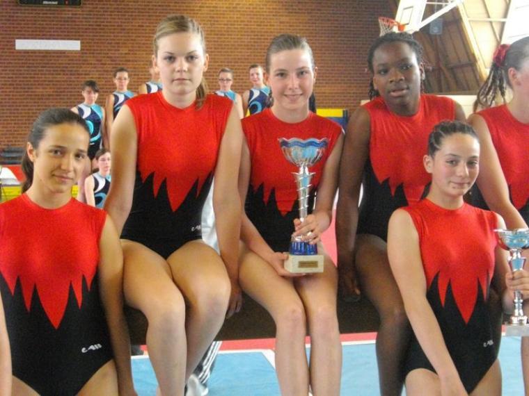 1 ère junior/senior departementaux 2009