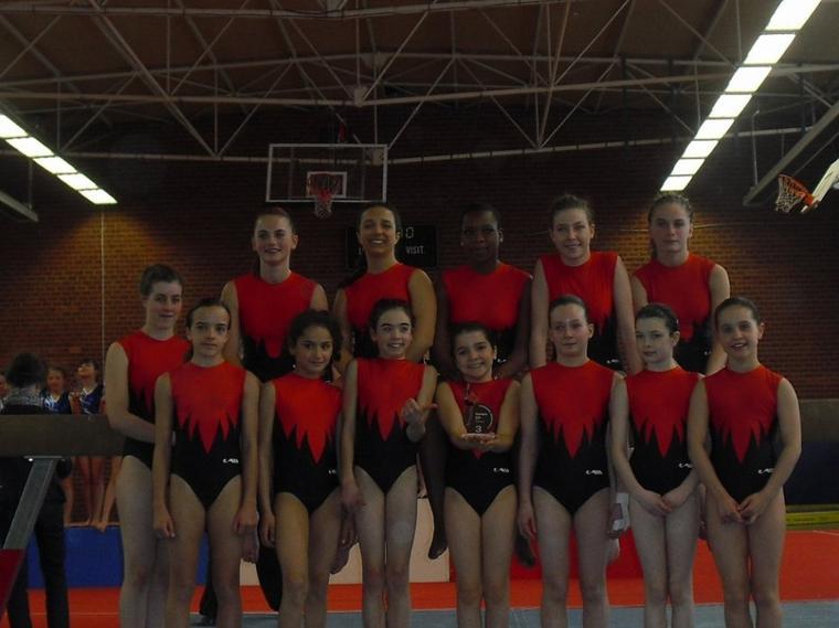 2) Equipes départementales 2012