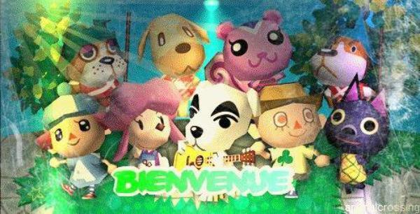 Bienvenu sur le Monde de Animal Crossing