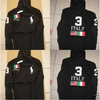 Sweat RALPH LAUREN  Flag ITALIE,NOIR