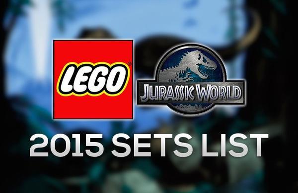 Lego Jurassic World : Liste des sets à venir !
