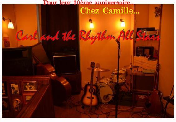 10ème Anniversaire CARL & THE RHYTHM ALL STARS ! ! !