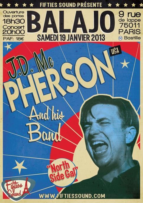 JD Mc PHERSON au Balajo Paris