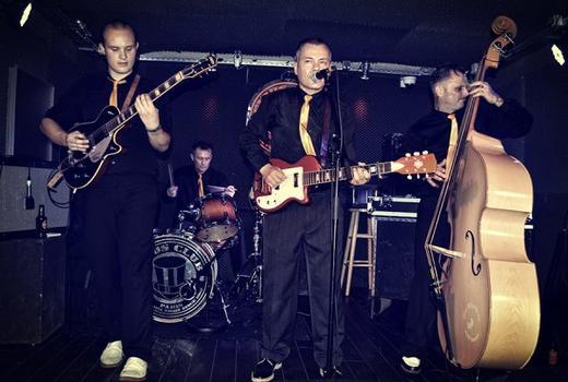 Rock'n'Roll Riot with The DELTA BOMBERS au Gibus Café Paris