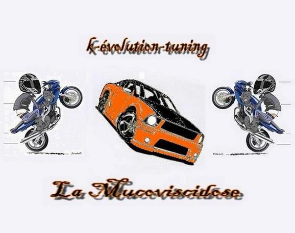 voici notre logo pour notre club k-évolution-tunig